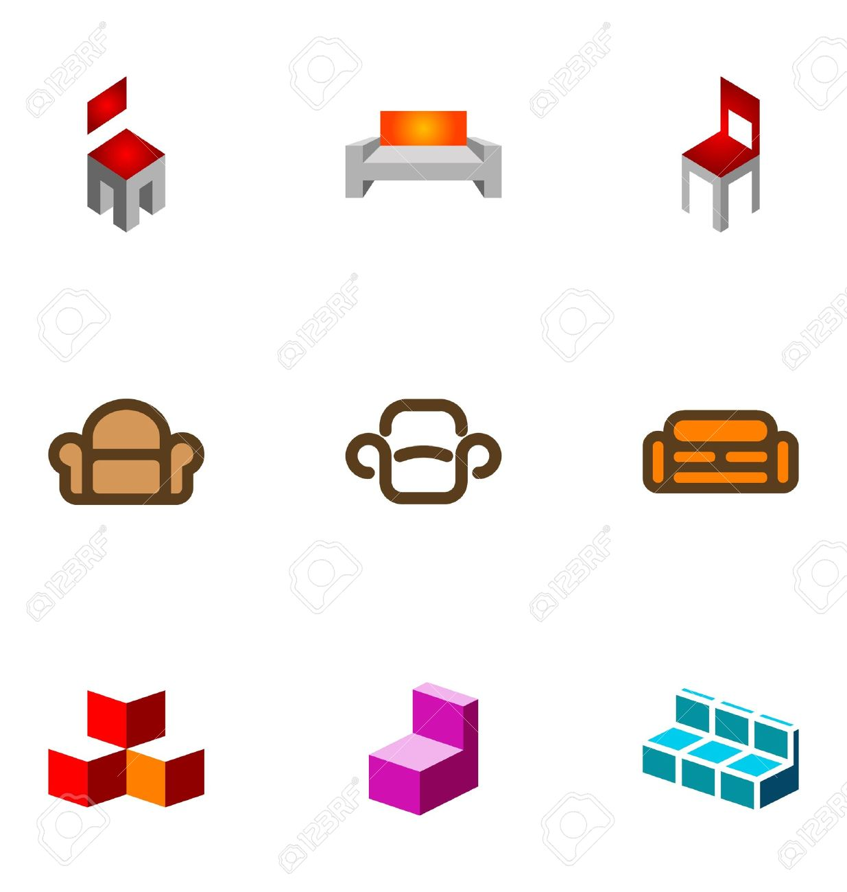 Furniture Logo Images Stock Pictures Royalty Free Furniture