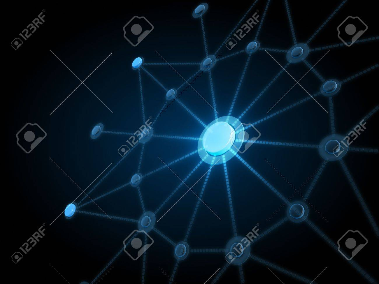 Network connection background Stock Photo - 10098243