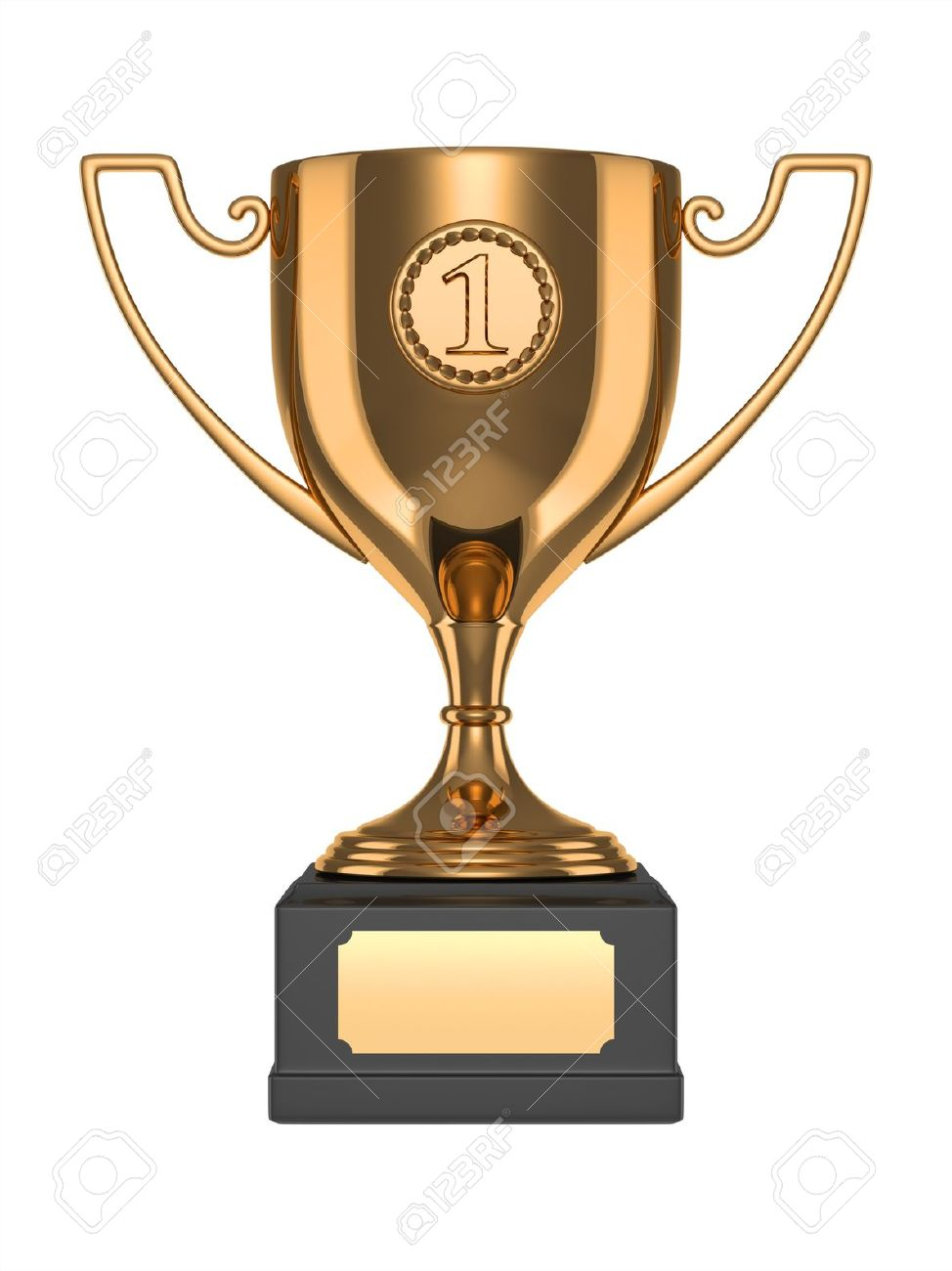 gold trophy stock photo picture and royalty free image image 10098354