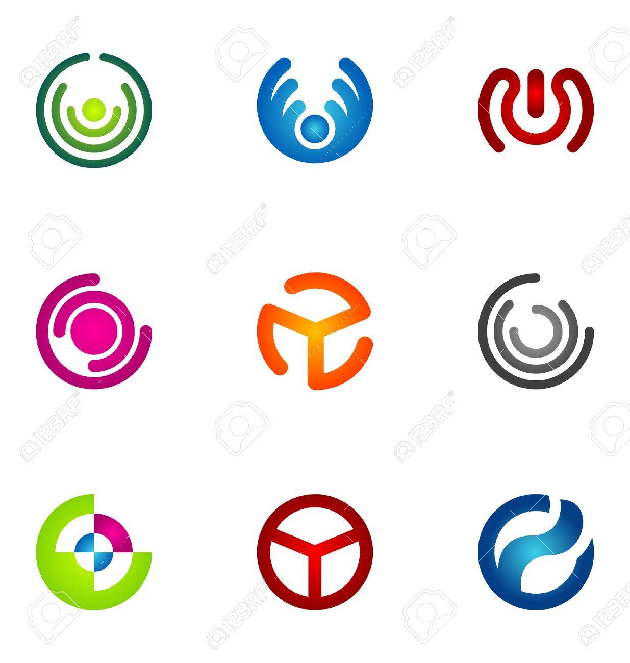 Logo design elements set 53 Stock Vector - 10130269