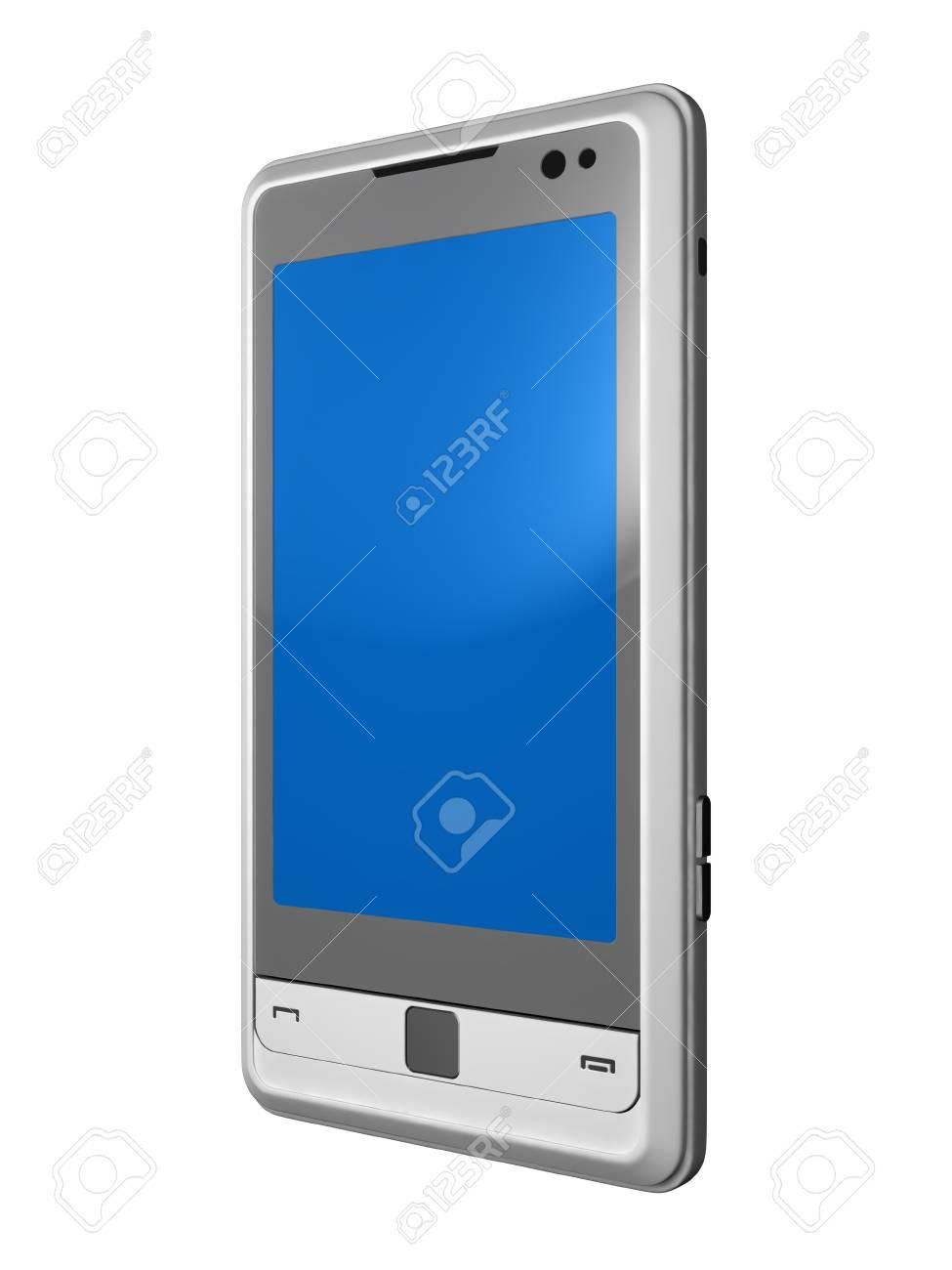 mobile telephone isolated on white Stock Photo - 10161816