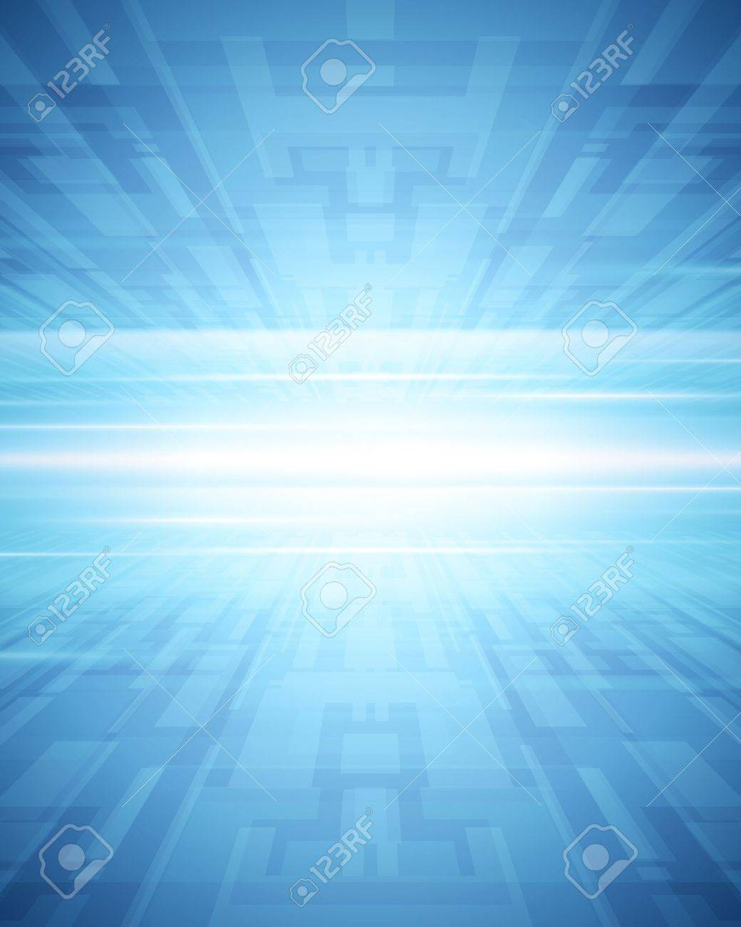 Abstract 3d virtual space vector background - 13908326