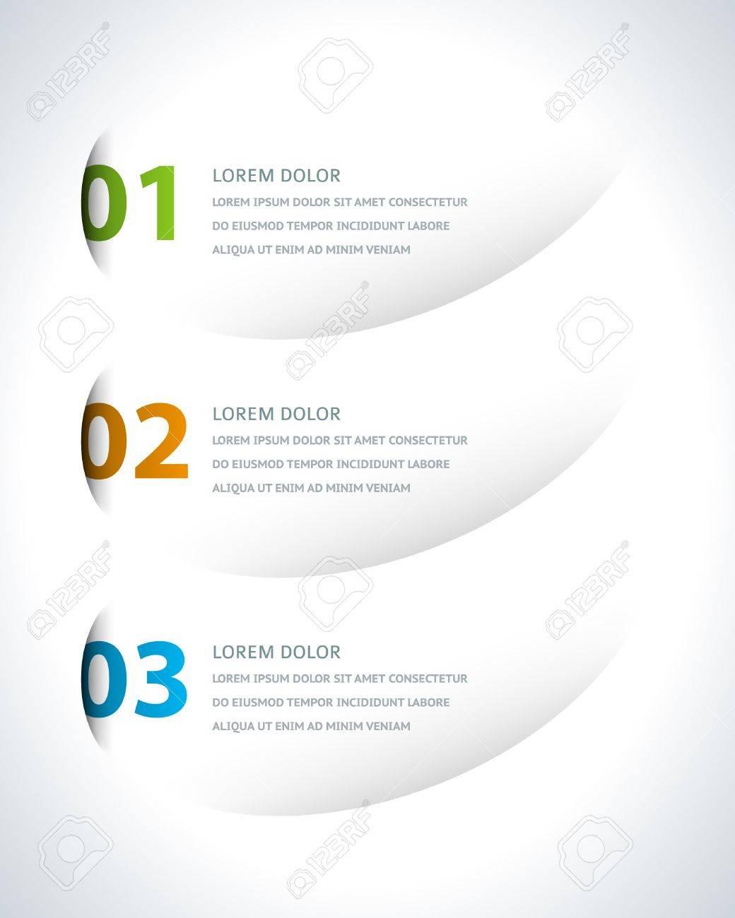 Infographics options design elements Stock Vector - 21853013