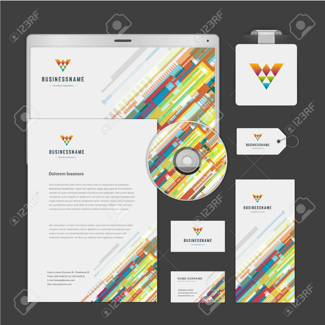 Abstrakt Icon Corporate Identity Vorlage Up-Design-Elemente Zu ...