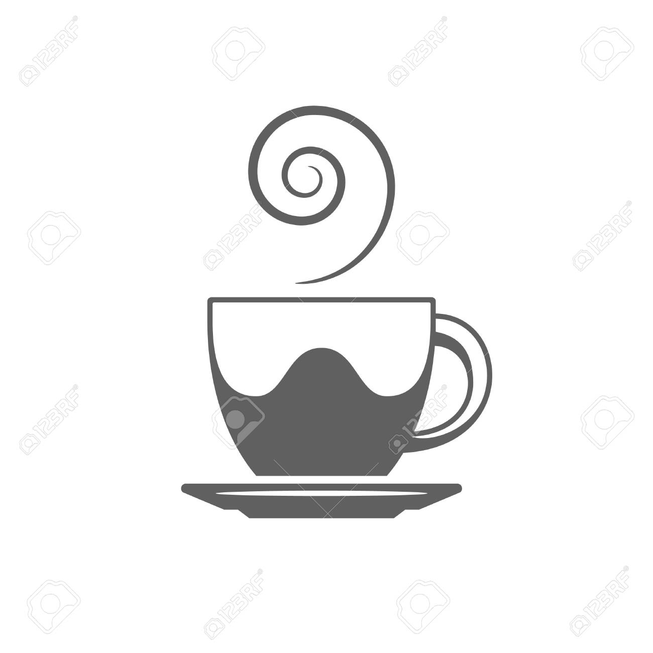 coffee or tea cup vector illustration coffee cup silhouette