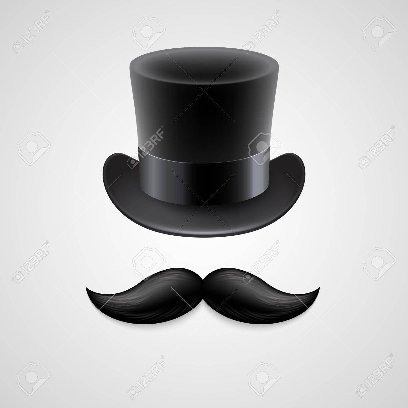 Foto de archivo - Sombrero de copa de la vendimia 9162021338b4