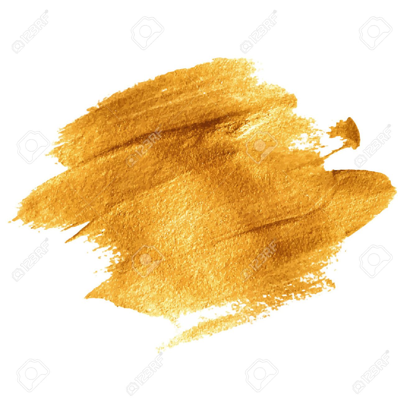 gold acrylic paint vector illustration eps 10 royalty free cliparts