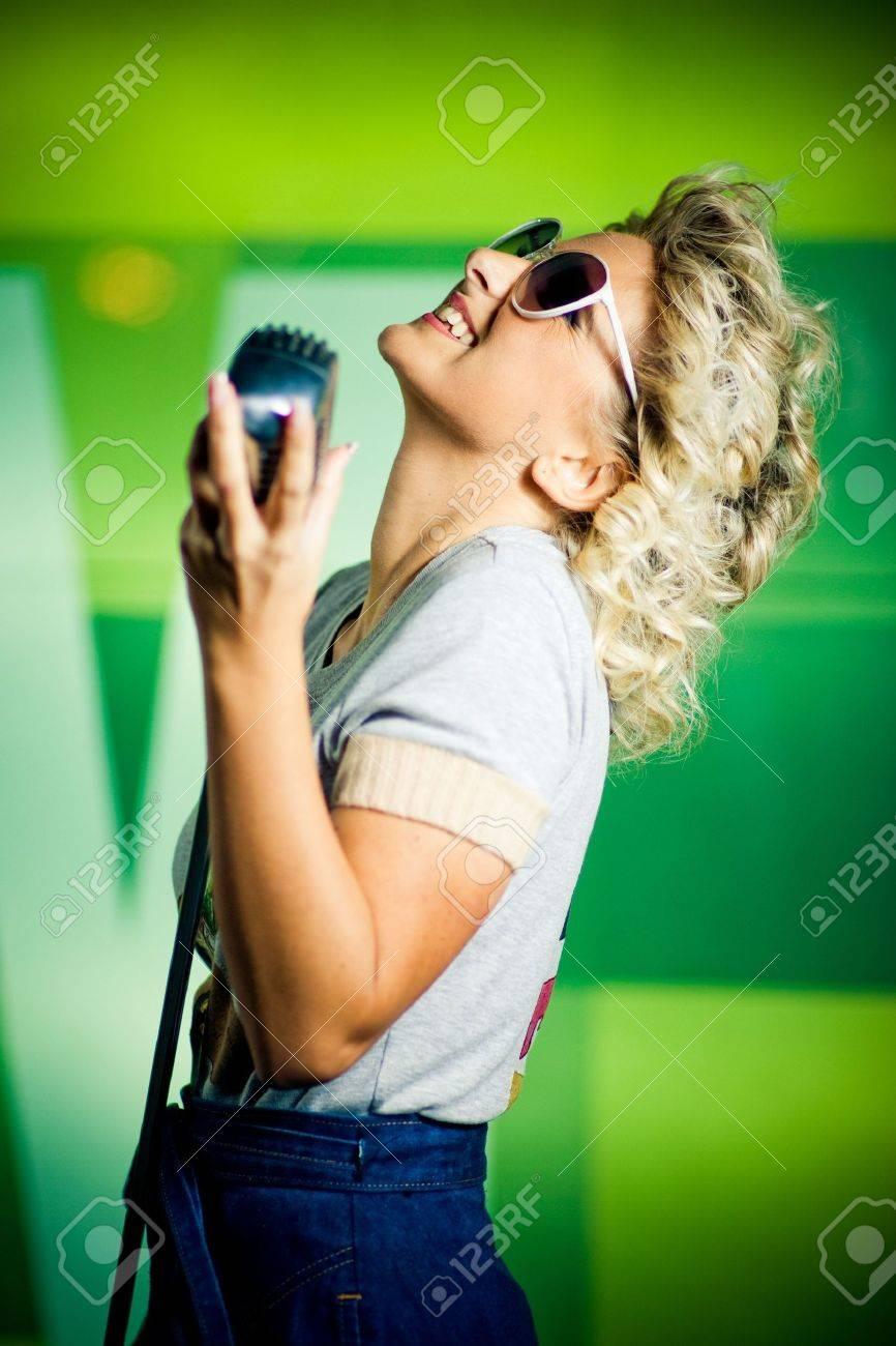 Singer Stock Photo - 5853761