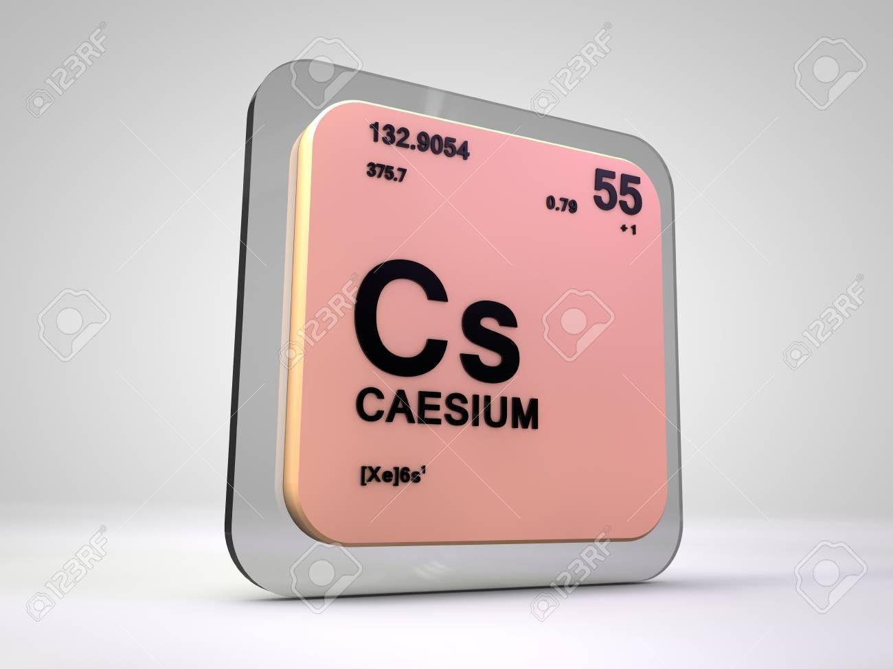Cesium cs chemical element periodic table 3d render stock cesium cs chemical element periodic table 3d render stock photo 74941688 gamestrikefo Choice Image