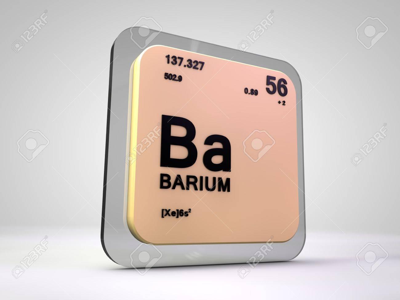 Bario ba tabla peridica del elemento qumico 3d fotos retratos bario ba tabla peridica del elemento qumico 3d foto de archivo 75226154 urtaz Images