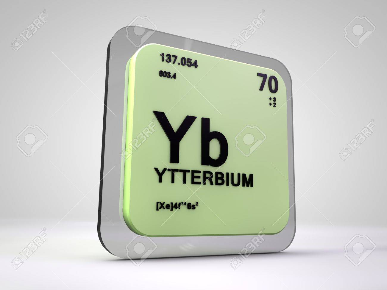 Ytterbium yb chemical element periodic table 3d render stock ytterbium yb chemical element periodic table 3d render stock photo 75444796 urtaz Images