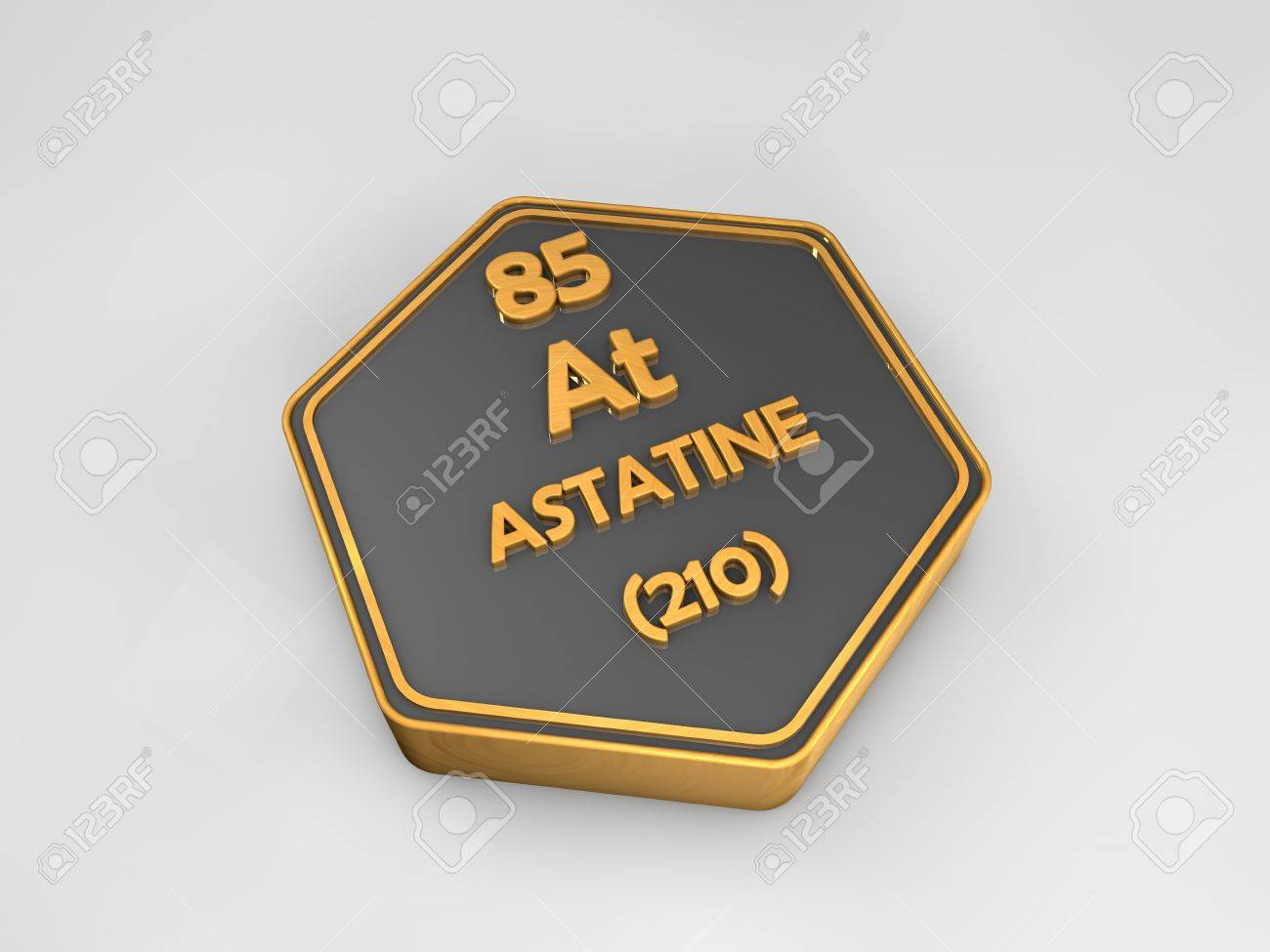Astatine at chemical element periodic table hexagonal shape astatine at chemical element periodic table hexagonal shape 3d render stock photo 82062117 gamestrikefo Image collections
