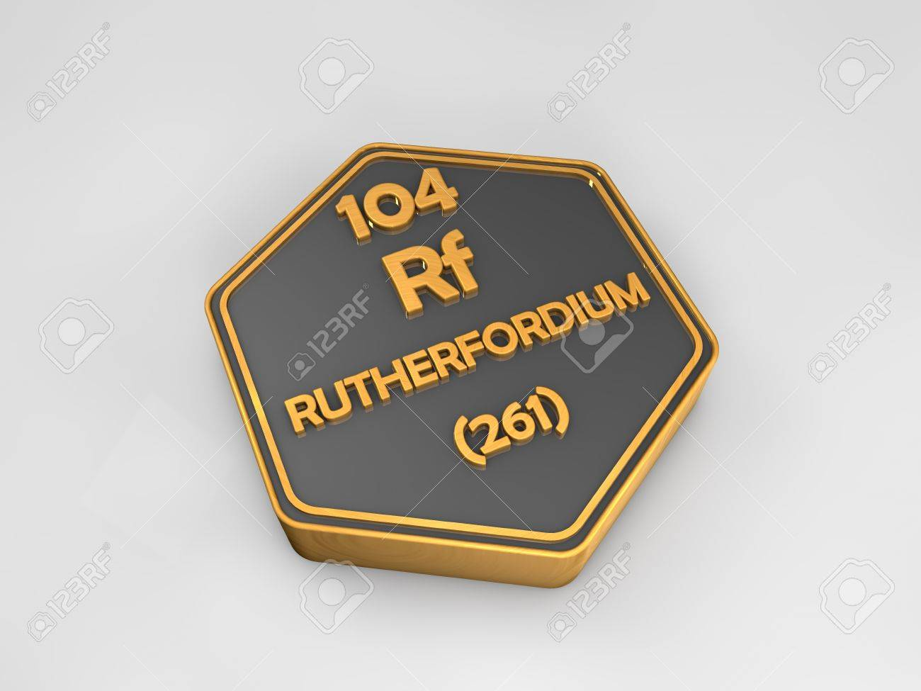 Rutherfordium rf chemical element periodic table hexagonal rutherfordium rf chemical element periodic table hexagonal shape 3d render stock photo 82719185 gamestrikefo Image collections