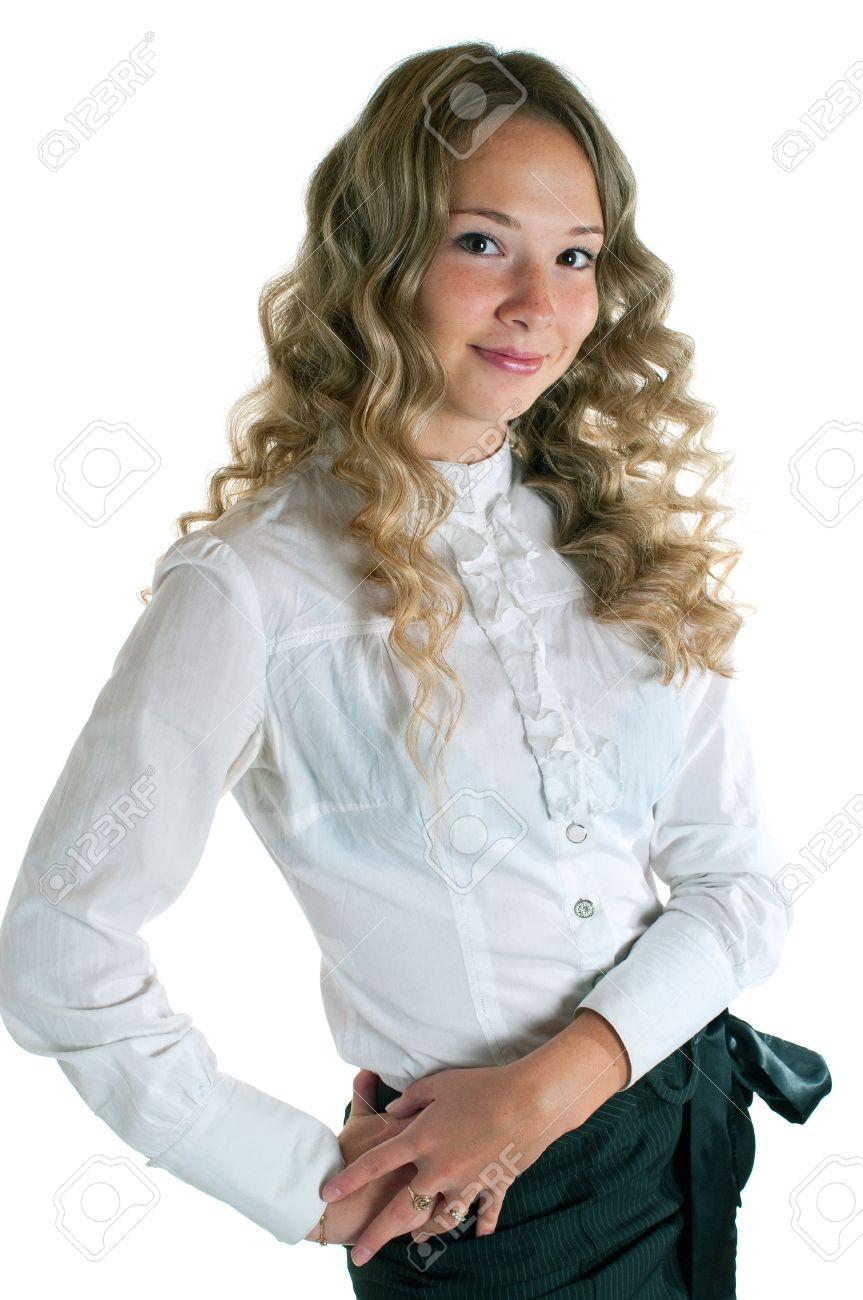 Фотки девушек в юбки и блузке 17 фотография