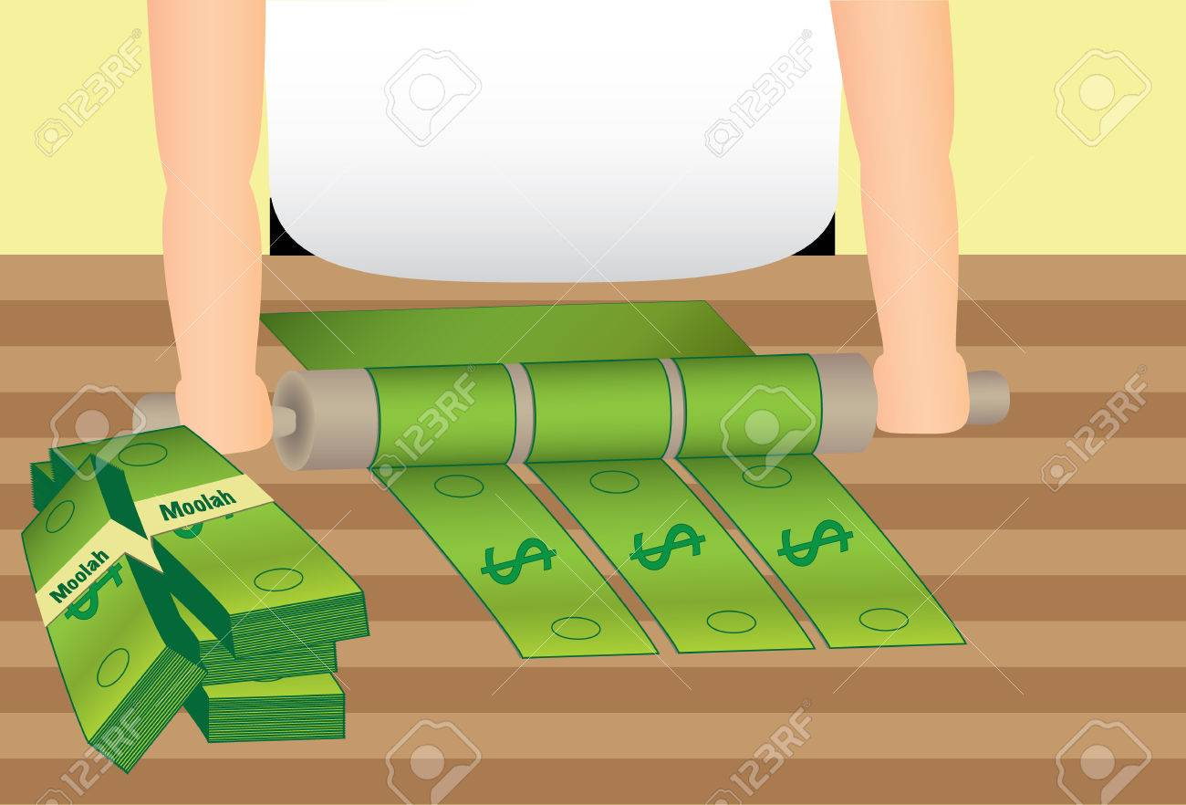 Rolling in the Dough Money - 40040967