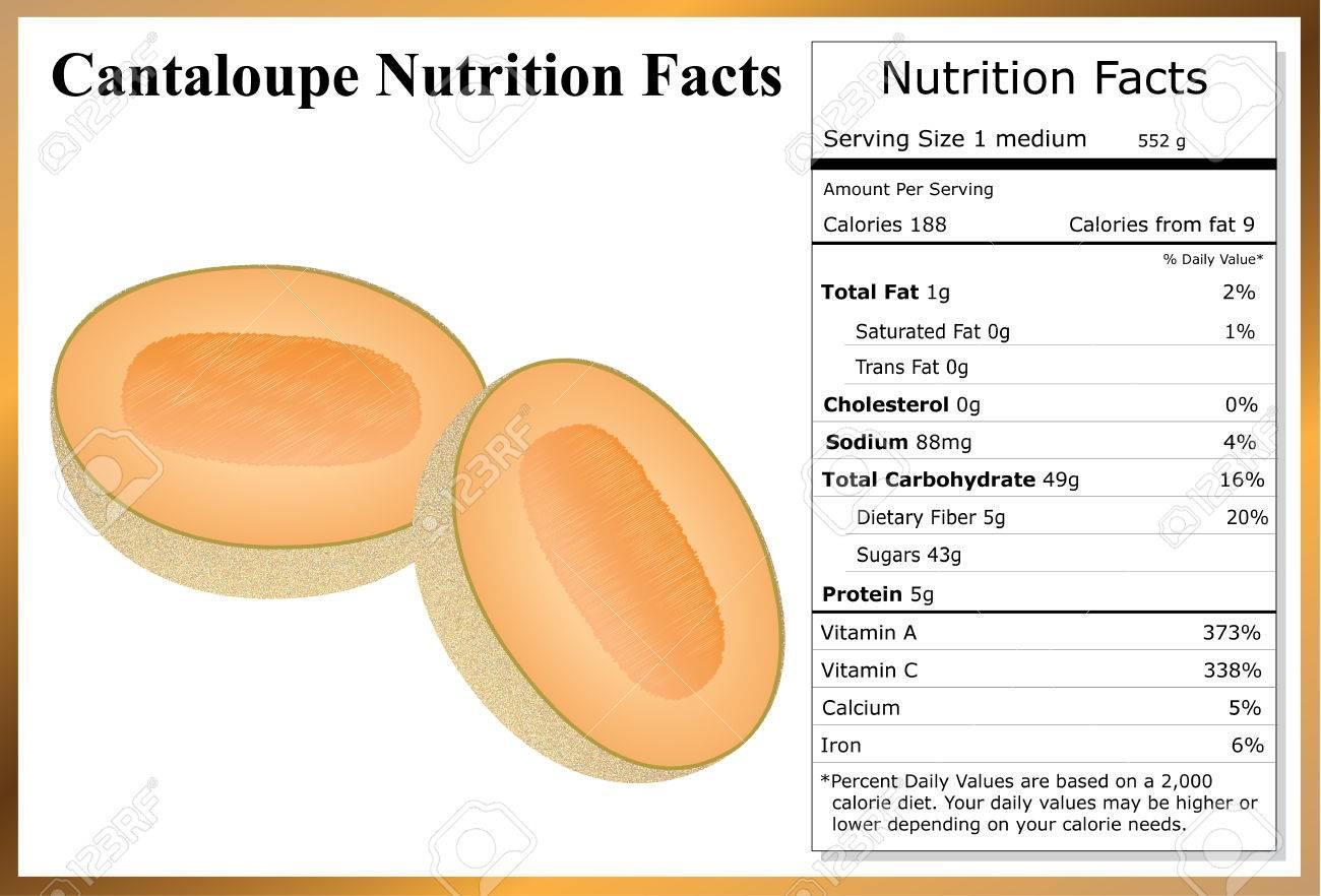 Cantaloupe Nutrition Facts - 40420535