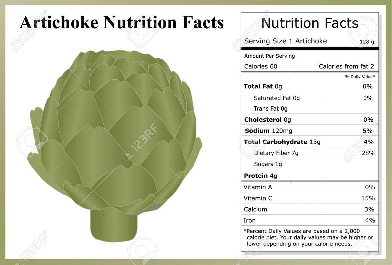 Artichoke Nutrition Facts - 43133490