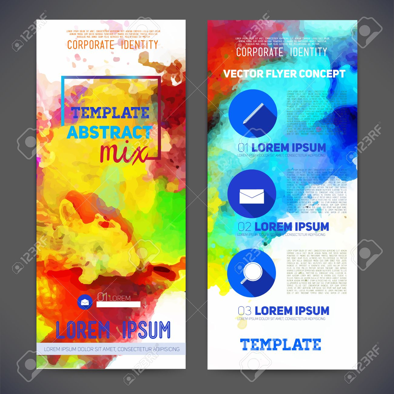 printing business stock illustrations cliparts and royalty printing business abstract vector template design brochure web sites page leaflet