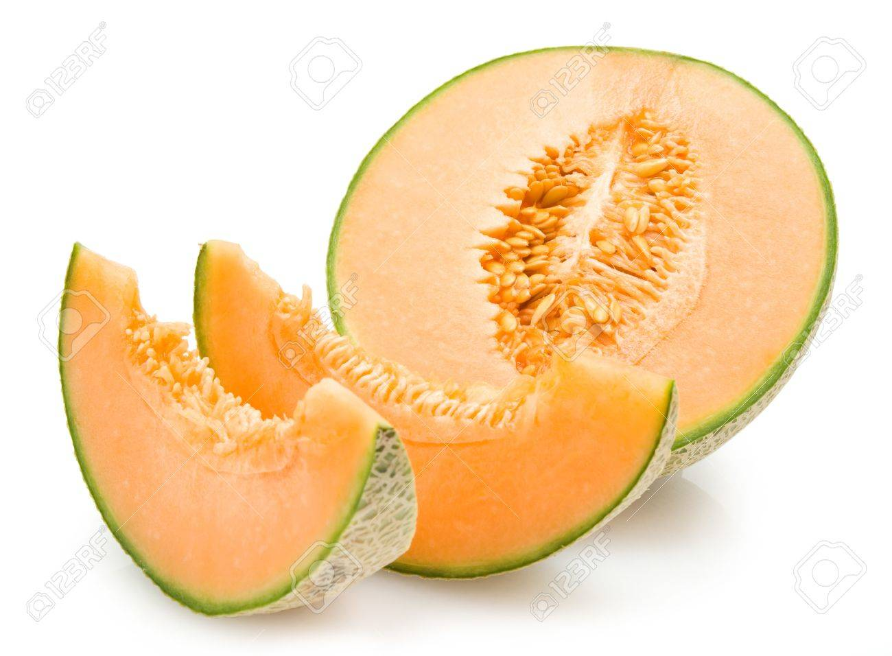 Cantaloupe Melon Stock Photo Picture And Royalty Free Image Image 11701845 Here you can explore hq cantaloupe transparent illustrations, icons and clipart with filter setting like polish your personal project or design with these cantaloupe transparent png images, make it even. cantaloupe melon
