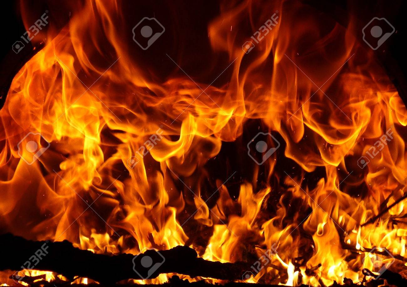 fire flames Stock Photo - 1366866