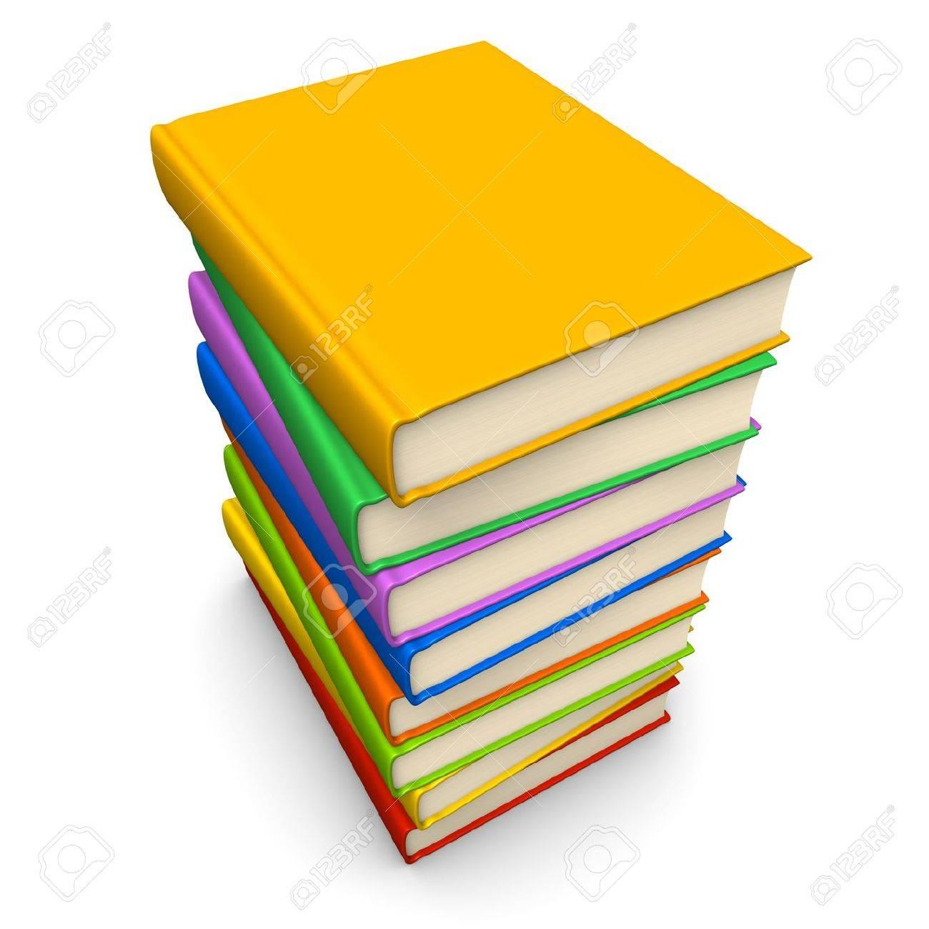 Book pile Stock Photo - 13007820
