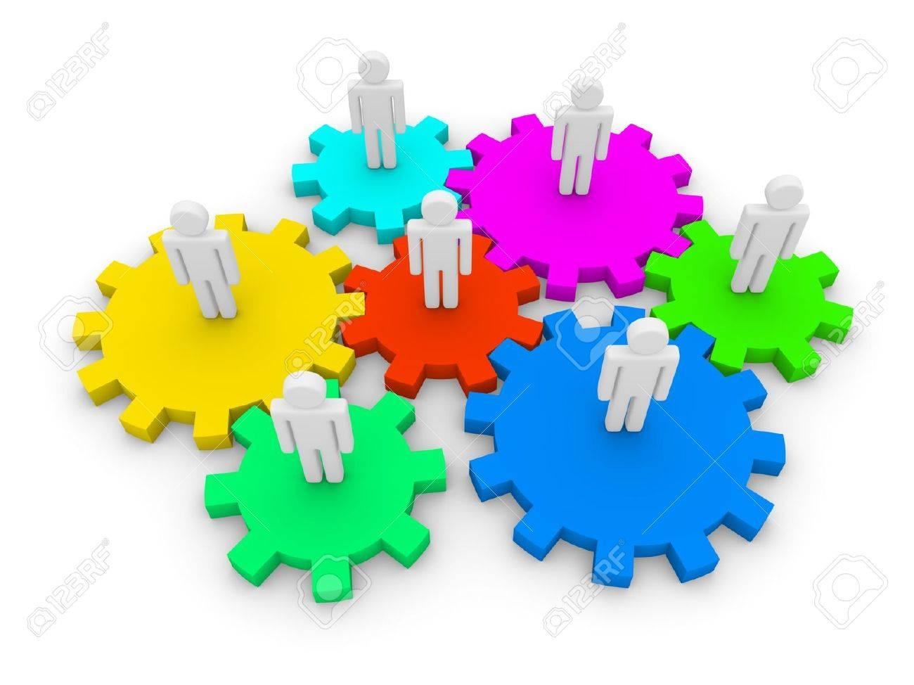 Social interaction Stock Photo - 13097446