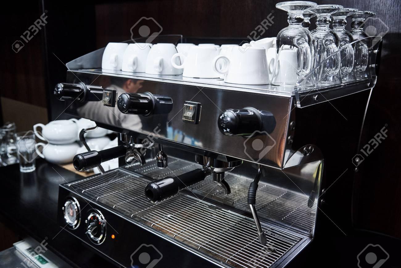 Professional Coffee Machine Coffee Shop Cafeteria Restaurant