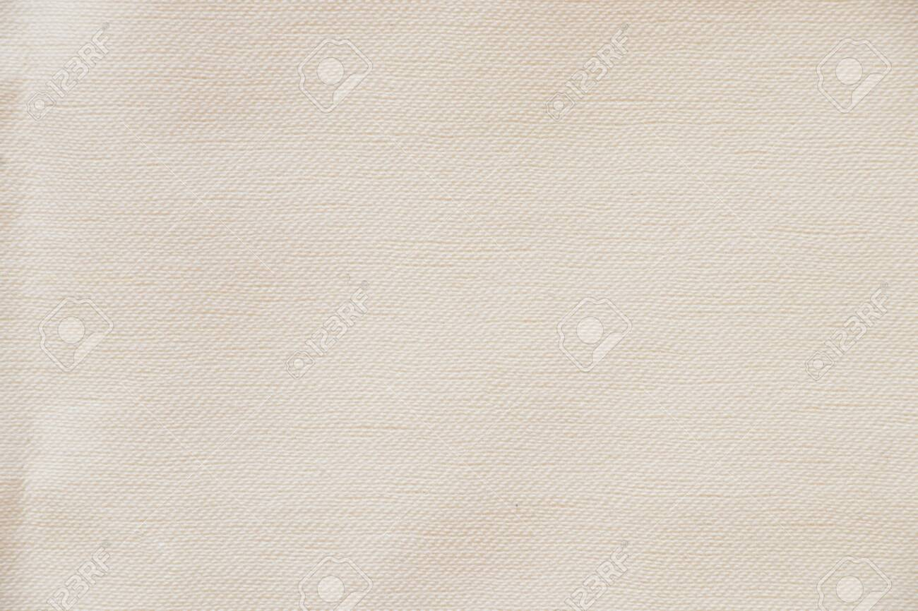 white plain cotton fabric as background close up - 150203209