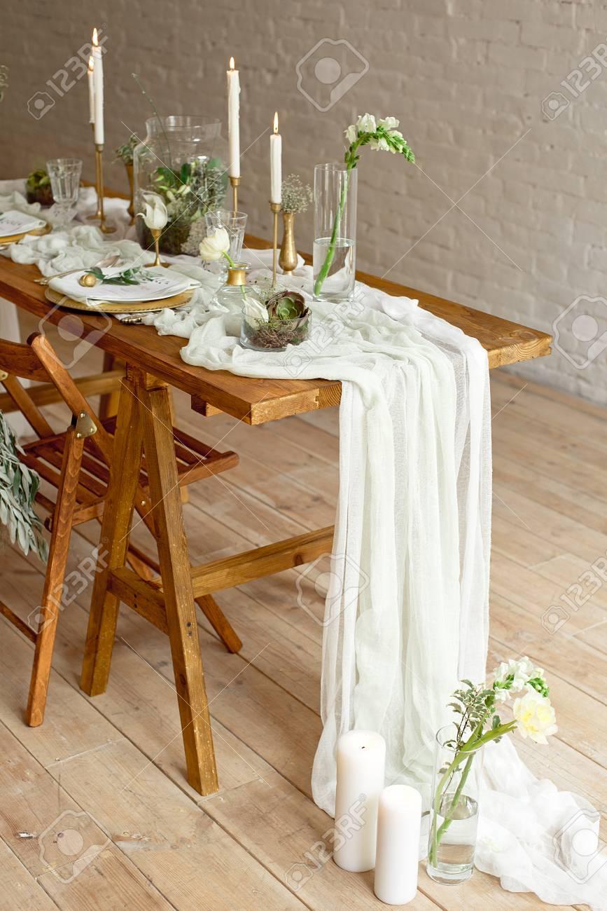 Boho Wedding Decor.Boho Wedding Table Setting Rustic Decorations Gold And Blue