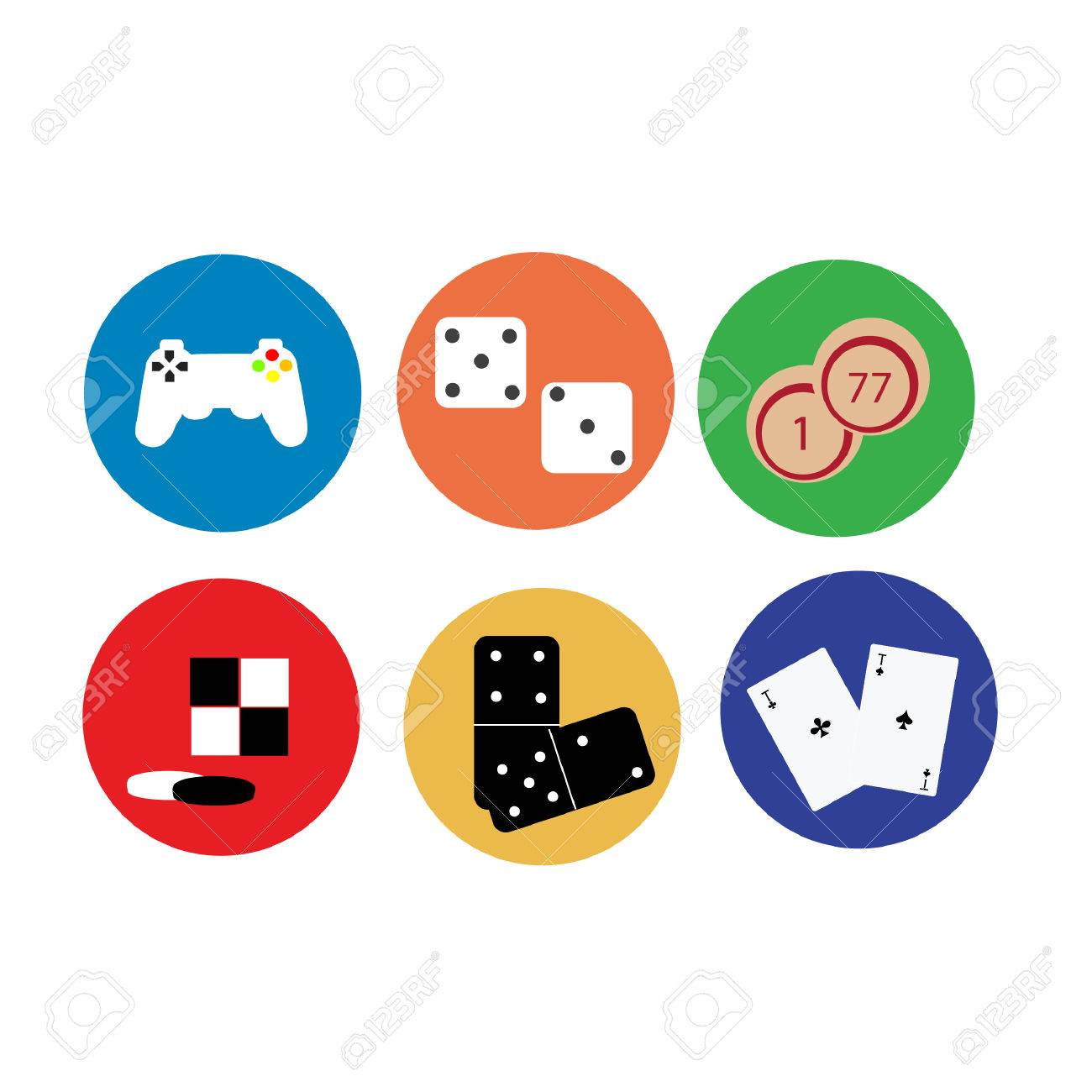Illustration Of Game Game Icons Video Game Icon Play Icon