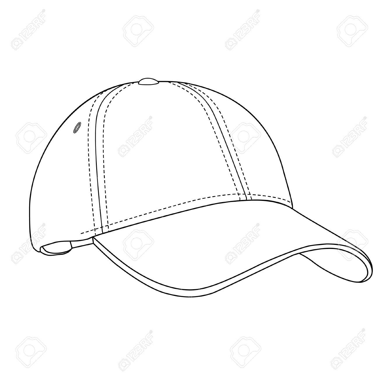 baseball cap baseball cap isolated baseball cap vector royalty rh 123rf com cap vector template cap vector illustration