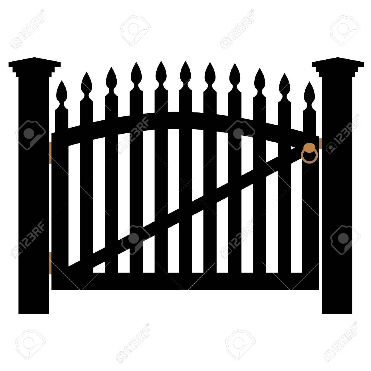1,196 Farm Gate Stock Illustrations, Cliparts And Royalty Free ...