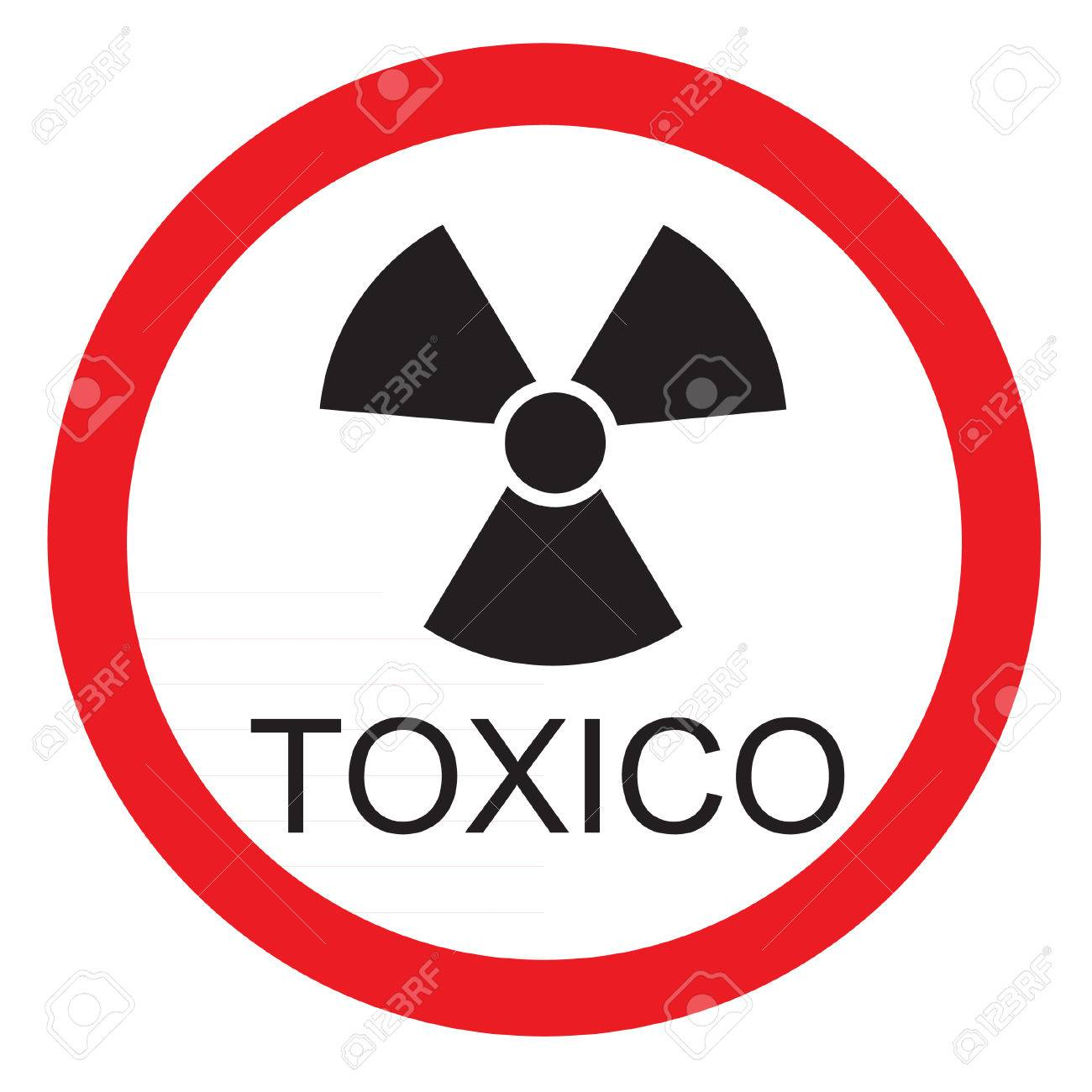 Round warning sign with text in spanish toxic icon isolated round warning sign with text in spanish toxic icon isolated stock vector 40000773 biocorpaavc Images
