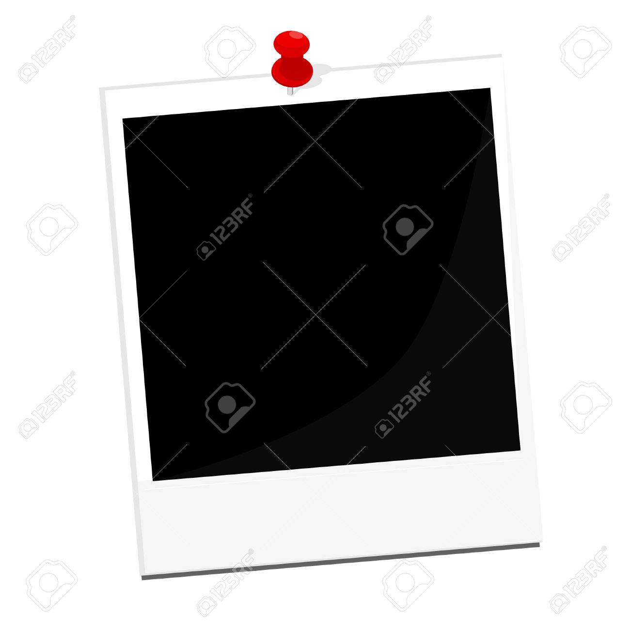 Polaroid Vector Frame - Real Clipart And Vector Graphics •