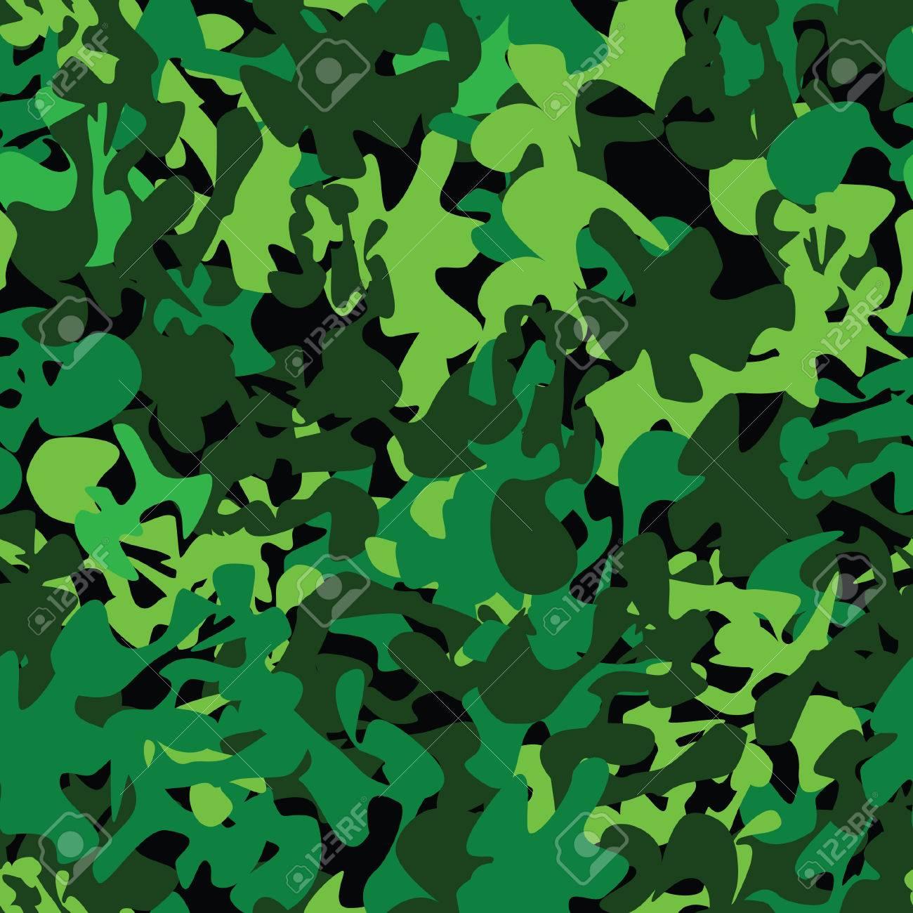 Militar Tarnen Nahtlose Muster Grau Abbildung