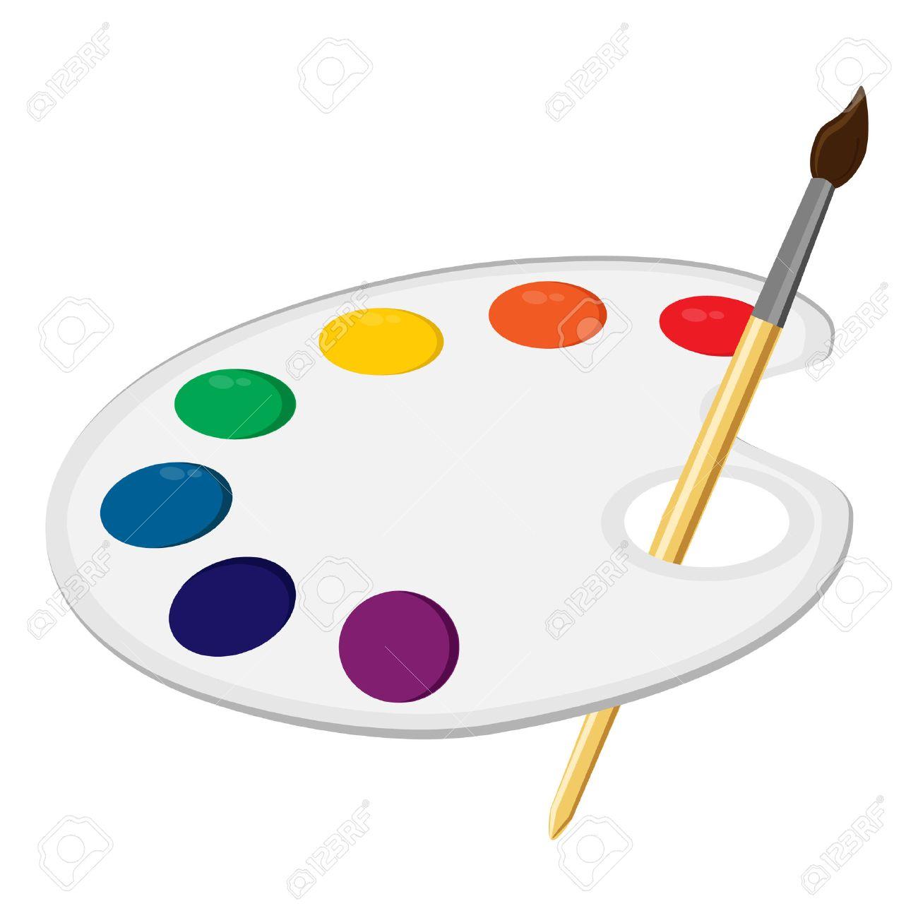 Art Palette Paint Palette Art Supplies Color Palette Palette