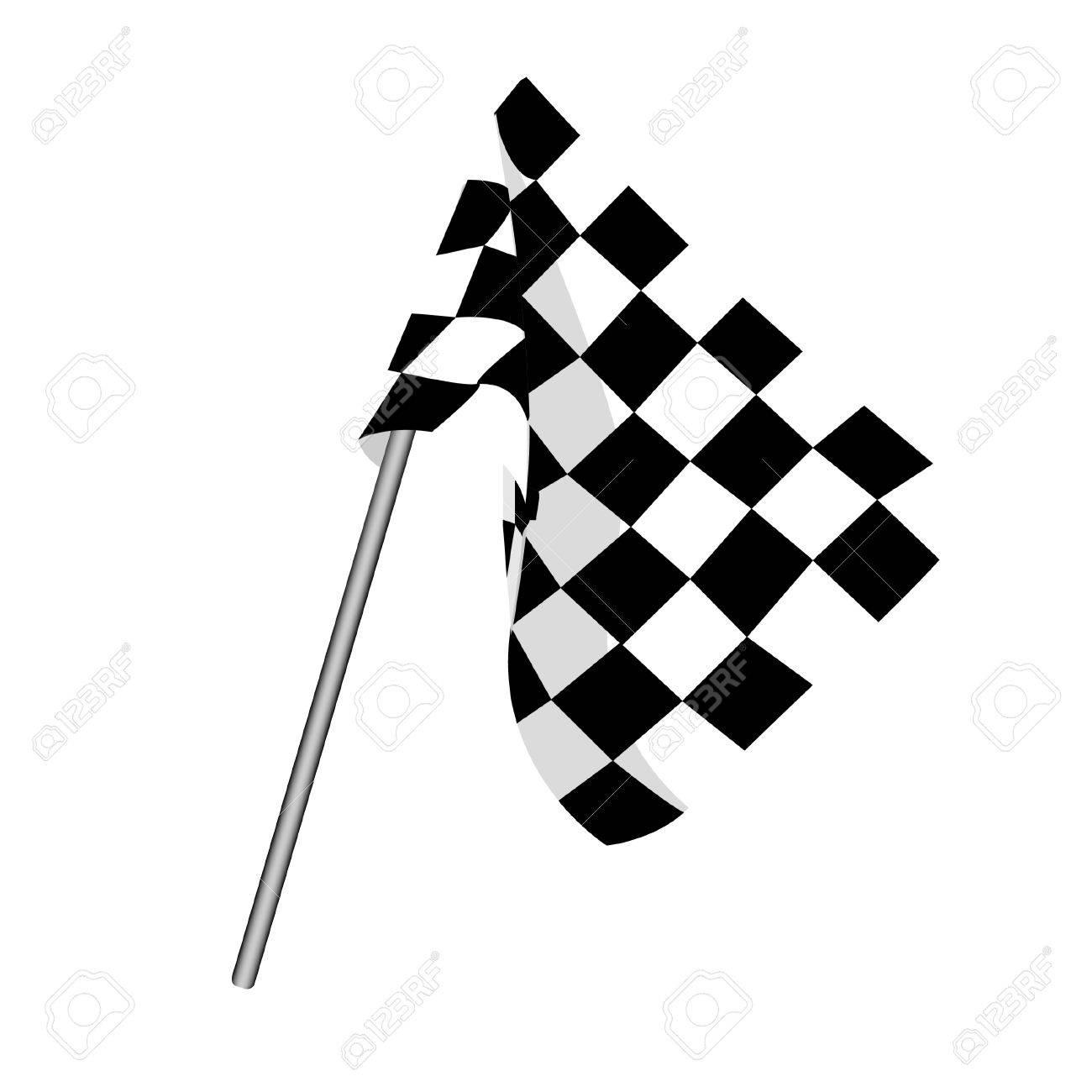 start flag checkered flag finish flag racing flag royalty free