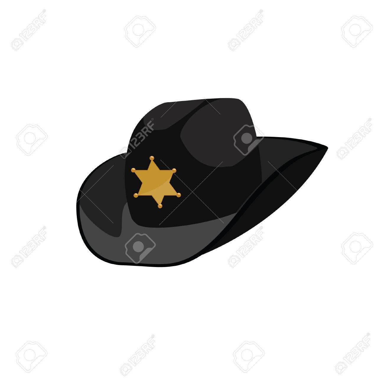 63e629d124a56 Black Sheriff Hat