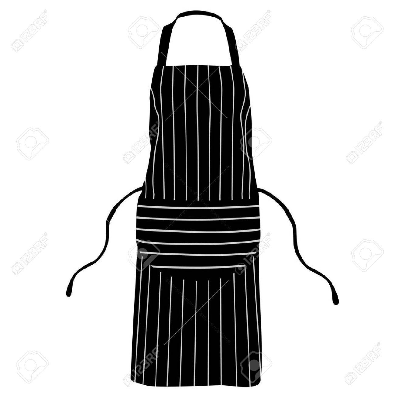 White apron blanks