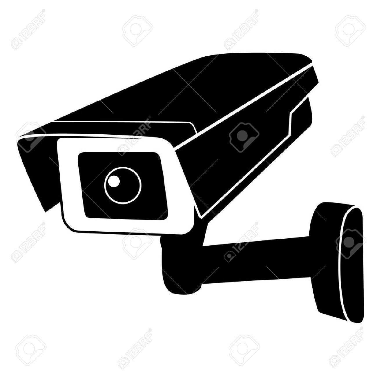 surveillance camera vector icon surveillance monitors camera