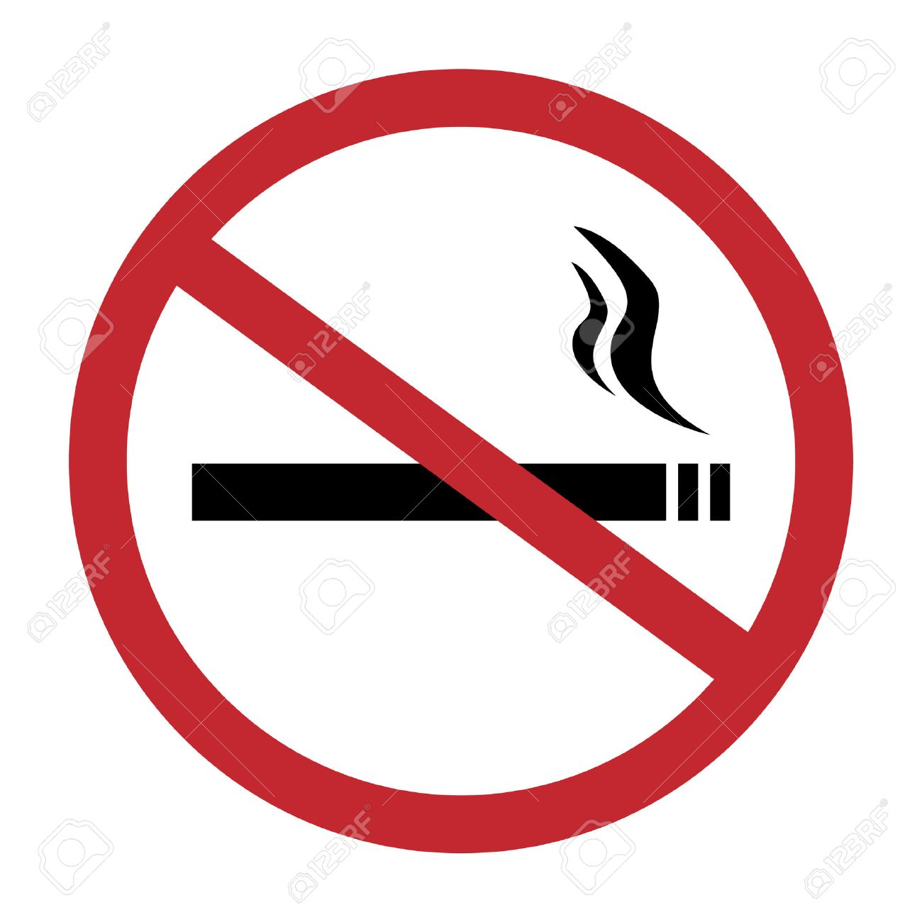 round no smoking sign quit smoking smoke free no smoking icon