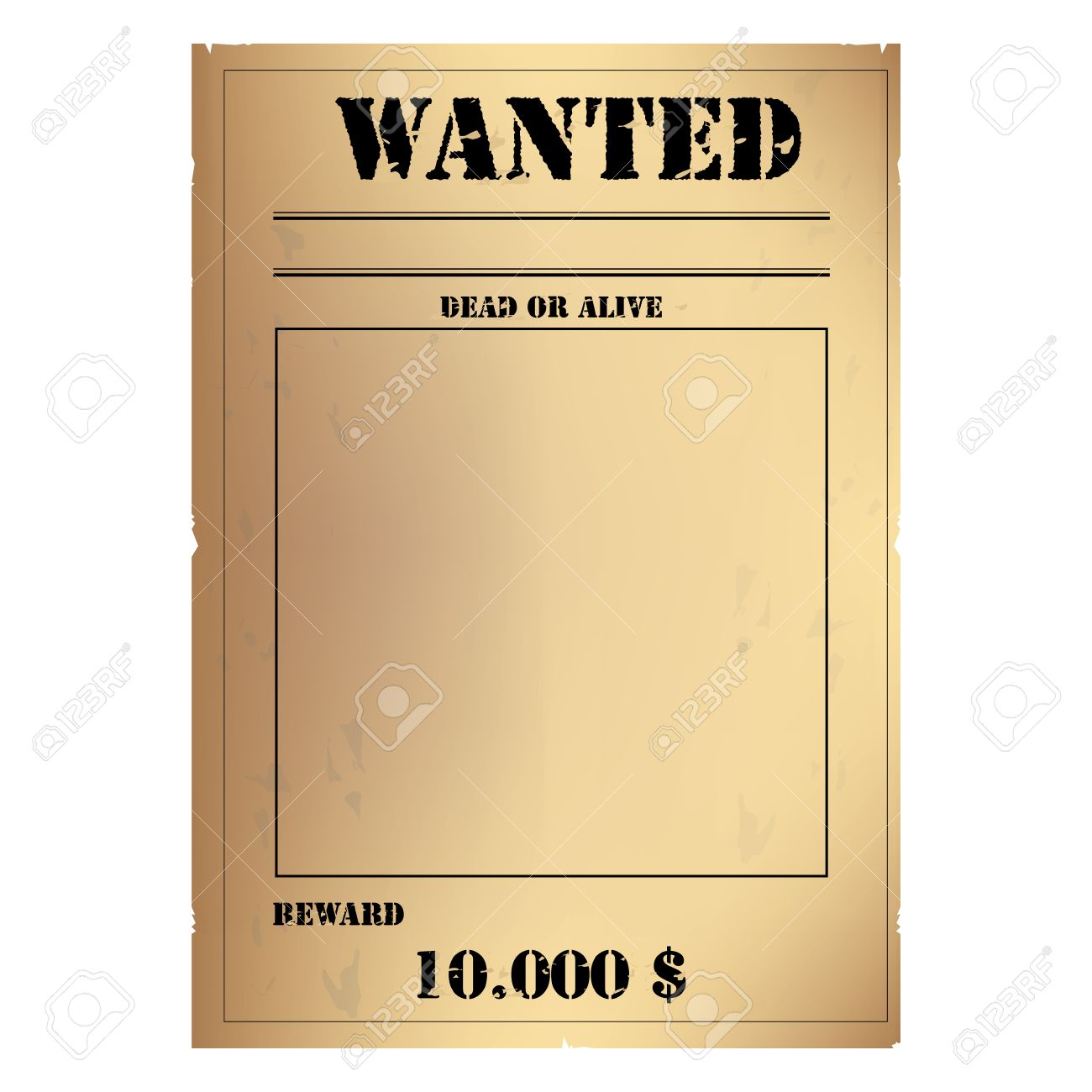 Reward Poster Template Reward Poster Template Wanted Poster – Wanted Poster Template Publisher