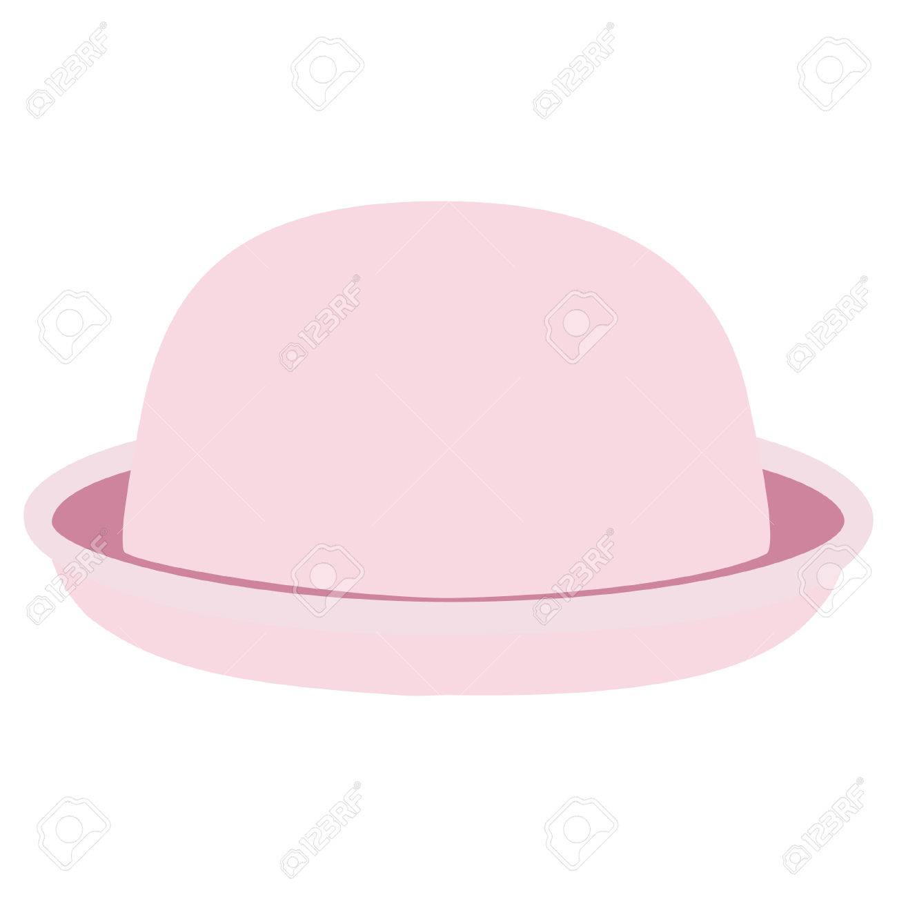 b4770f9c18e Pink Woman Bowler Hat. Derby Hat. Fashion