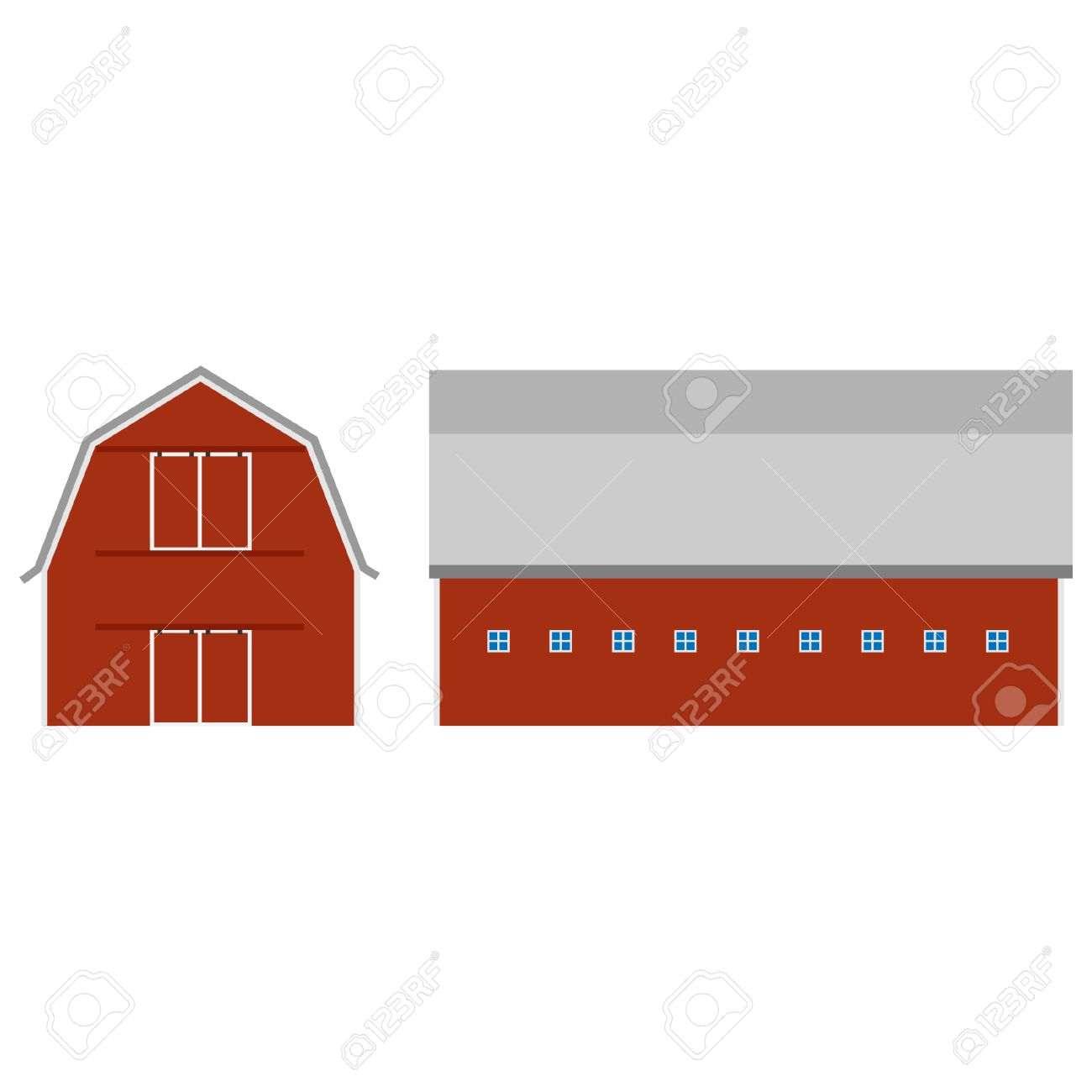 red barn doors clip art. old red barn ot farm house, door, raster isolated, farming stock photo doors clip art