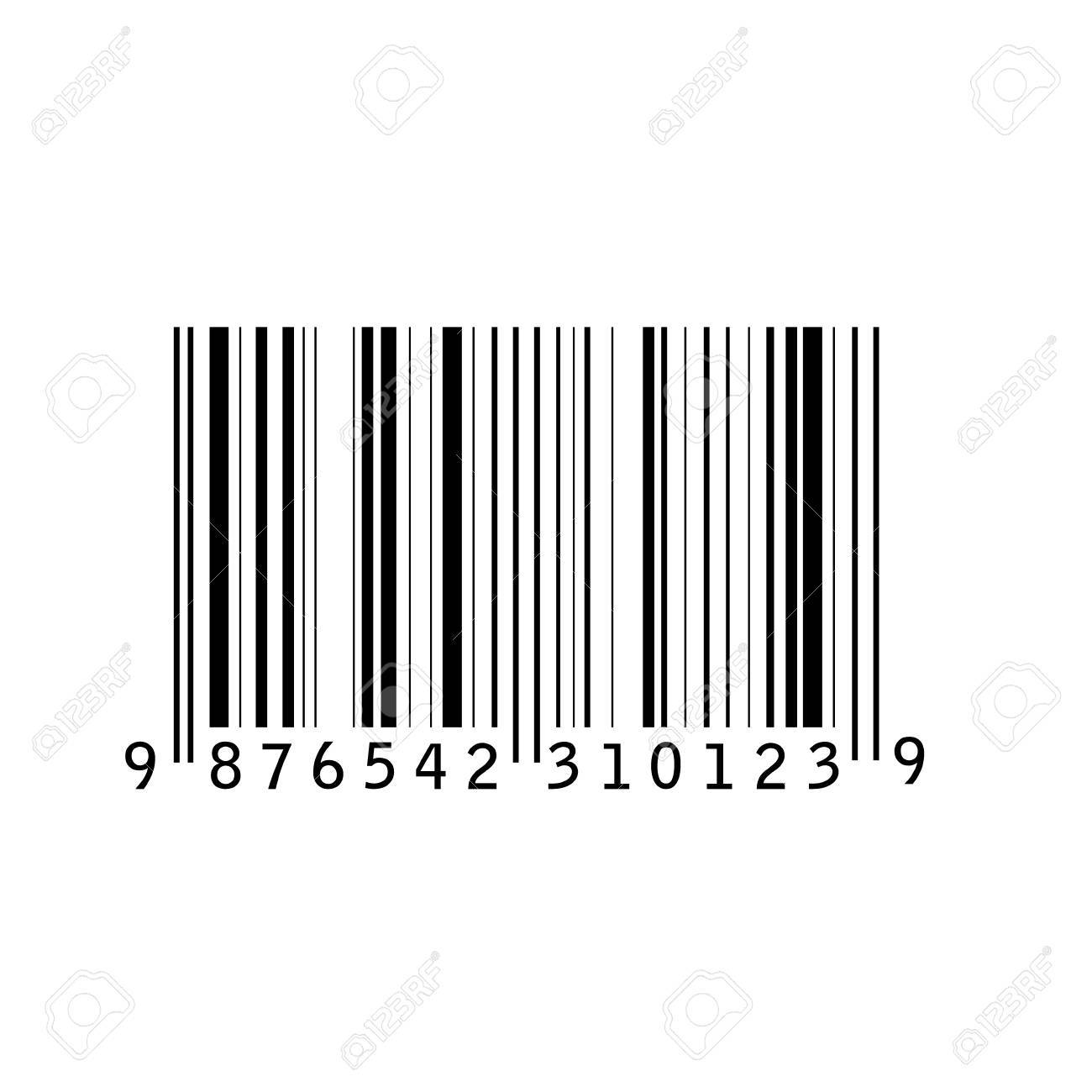 Bar Code Isolated Vector Illustration Barcode Icon Bar Code