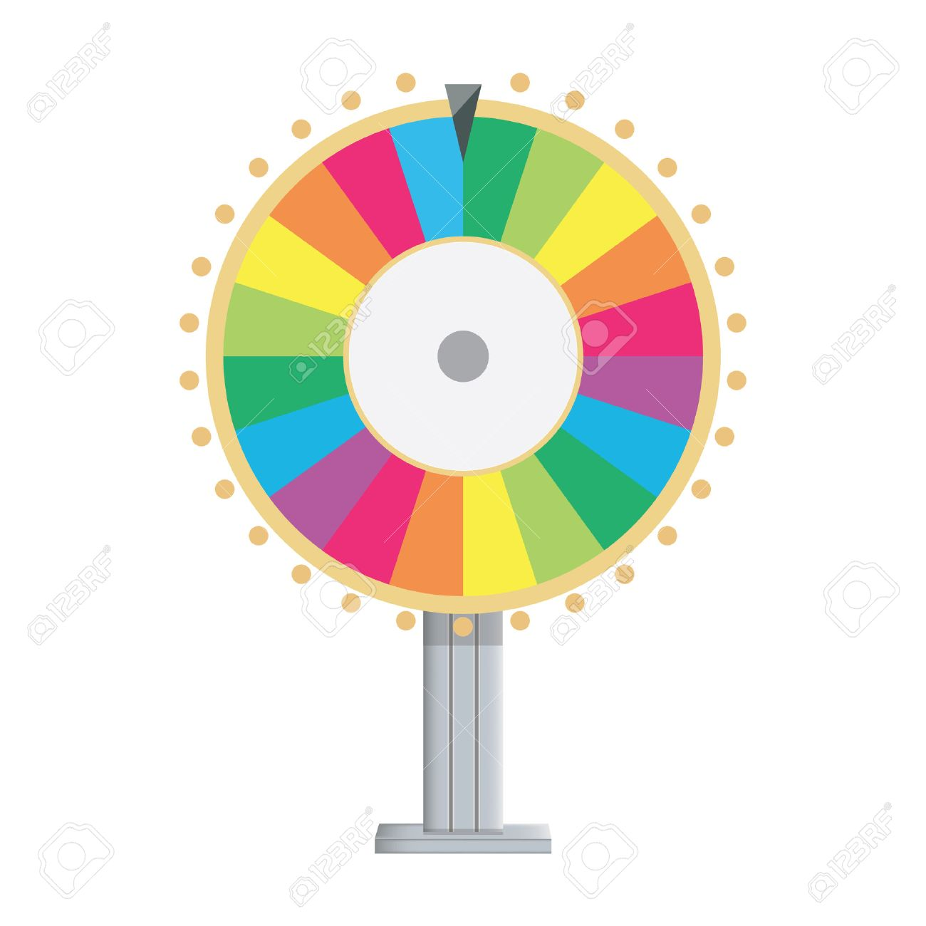Vector illustration wheel of fortune lucky spin icon in flat style banco de imagens vector illustration wheel of fortune lucky spin icon in flat style ccuart Choice Image