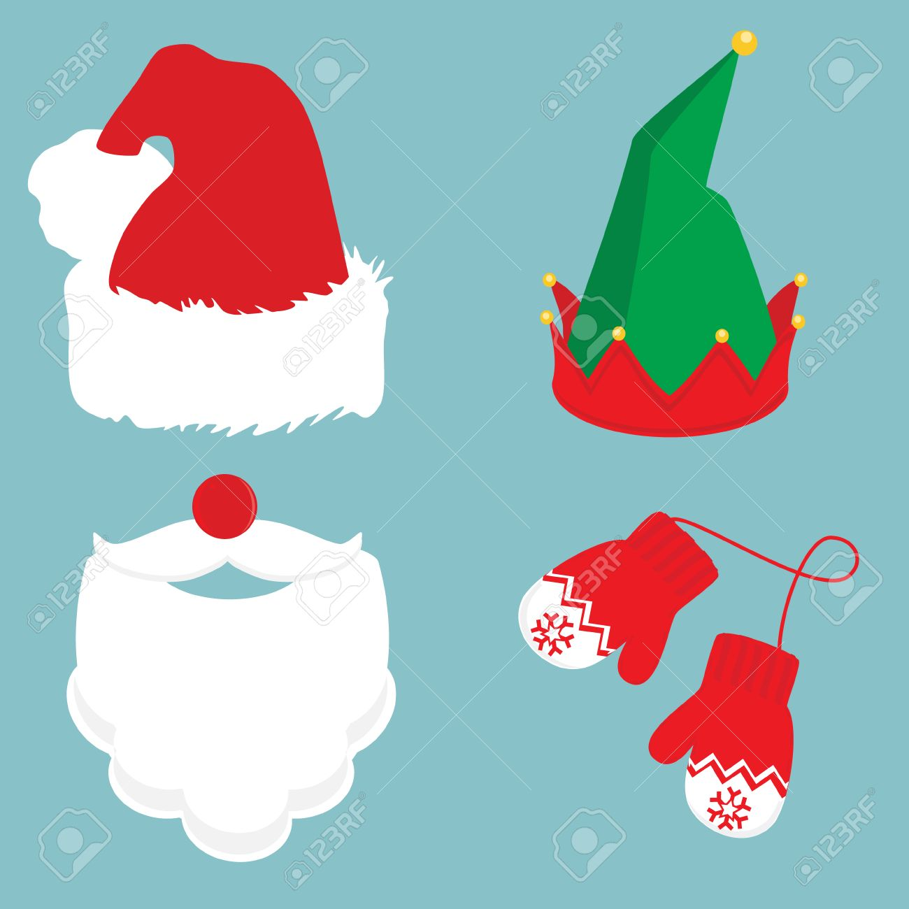 48,284 Hat Santa Stock Illustrations, Cliparts And Royalty Free ...