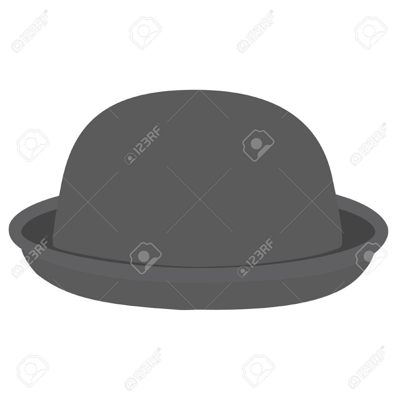 Grey Woman Bowler Hat. Derby Hat. Fashion c2df91ff7e8