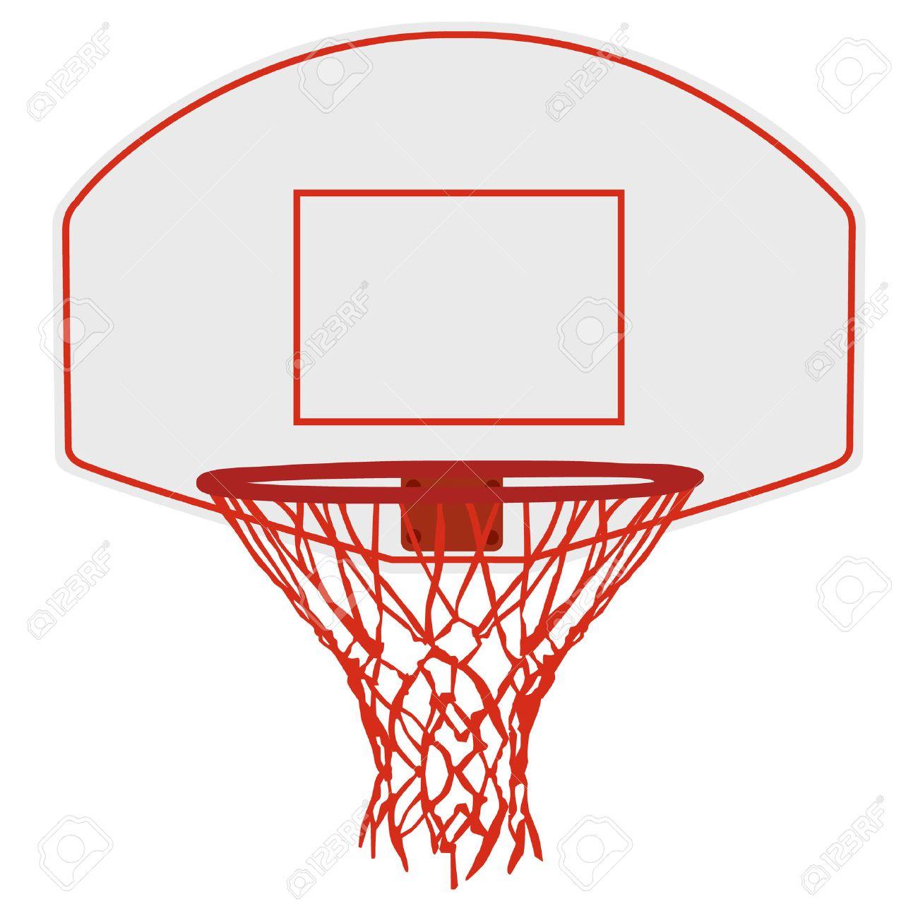 Vector illustration basketball basket, basketball hoop, basketball net. Basketball icon - 52951196