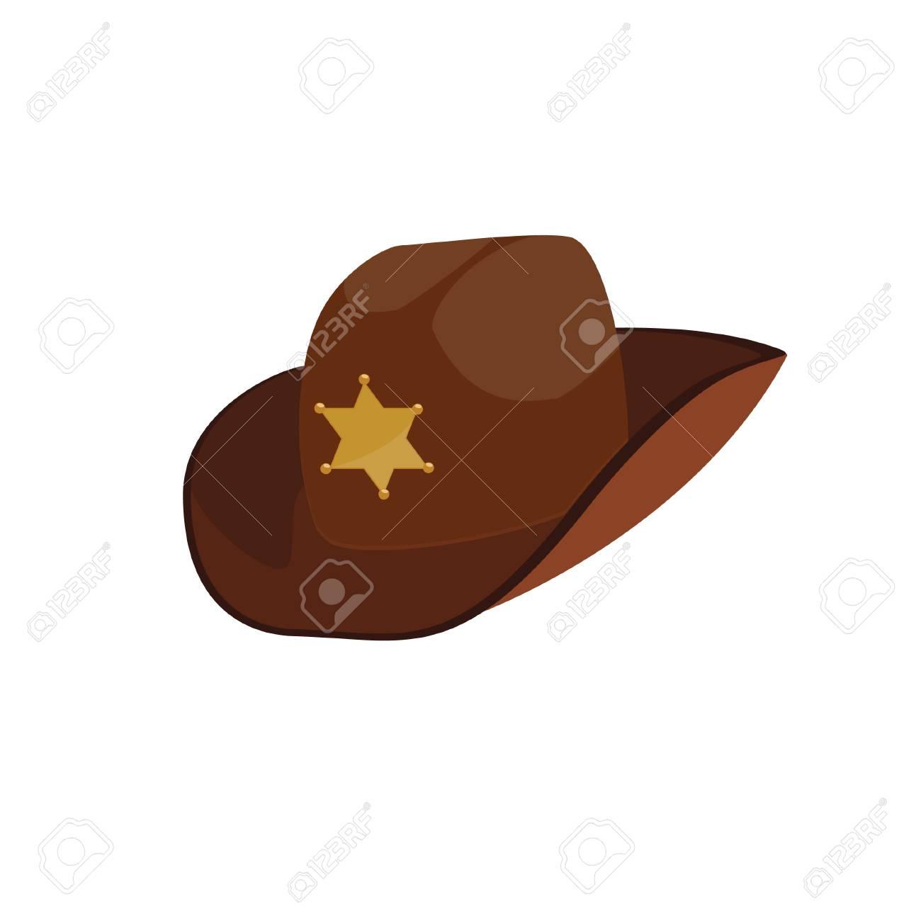 83b3d6f9008b3 Brown Sheriff Hat